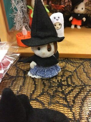 New Sylvanian Families Halloween handmade Witches Cape And Hat