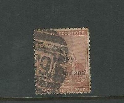 Bechuanaland: British Scott 3, used average, . BE09