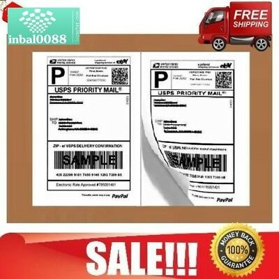 Shipping Labels Ebay Business USPS Self Adhesive Laser Inkjet Printer Stickers
