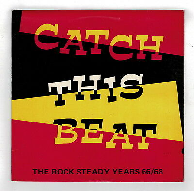 VARIOUS-catch this beat the rock steady years     island LP   (hear)     reggae