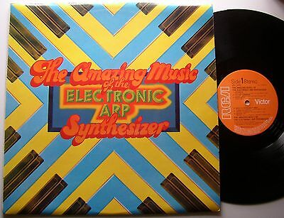 The Amazing Music Of The Electronic Arp Synthesizer (Rca)  1974 Lp