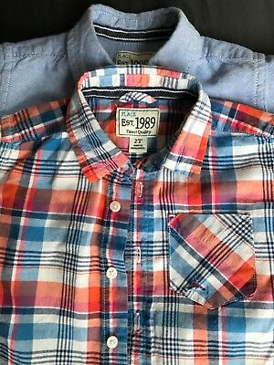 Childrens Place boy button down collared shirts size 2T