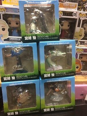Studio Ghibli Figure Complete Set: Totoro, Spirited Away, Moving Castle.... Rare