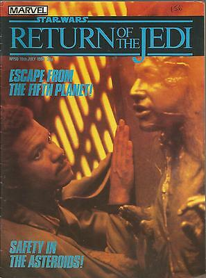 Marvel Comics Return of the Jedi. July 11th 1984. #56. Deals for multibuys