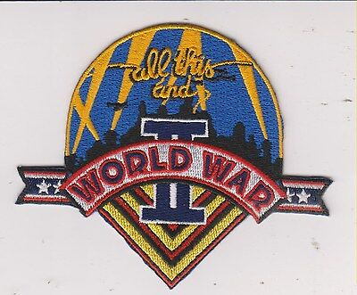 Beatles - All This And World War Ii Vintage Sew-On Embroidered Patch / New!