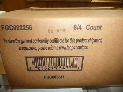 2016 Topps THE WALKING DEAD SURVIVAL BOX FACTORY SEALED 8 BOX HOBBY CASE
