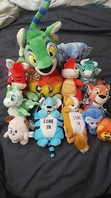 Neopets lot of 13 doorhangers keyquest petpets