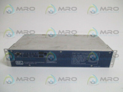 Sel Sel-251 251002-4556Uhnb Distribution Relay *used*