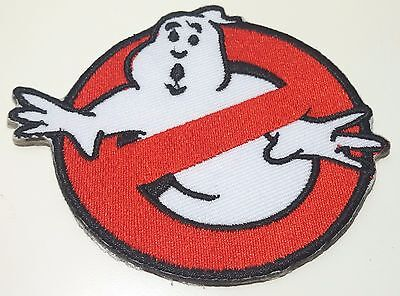 "1xNEW NO GHOST BUSTERS LOGO SYMBOL EMBROIDERED IRON ON PATCH SHIRT 3""x3.5"" PO8"