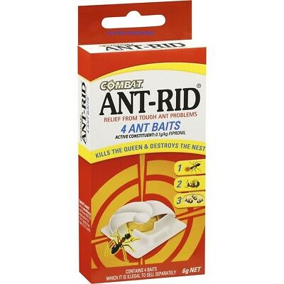 Ant Rid Baits 4 Pack For Tough Ant Problems Kills The  Queen And Nest