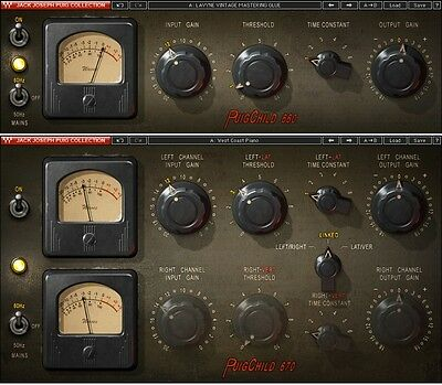 Waves PuigChild COMPRESSOR plug-in *NEW*+1yr WUP Fairchild 660 & 670 Compressor