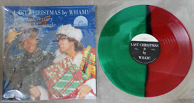 """Wham / George Michael - Last Christmas - Red Green Coloured - 12"""" Limited 3000"""