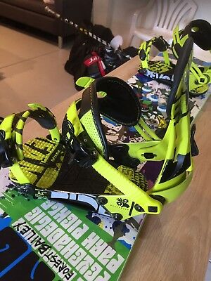 Ride Snowboard Bindings XL Men's Awesome Look Great Condition
