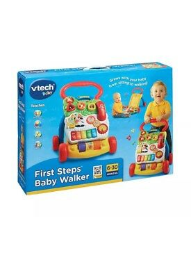 VTech First Steps Baby Walker, New Interactive Play Activity Toy Nrw & Boxed