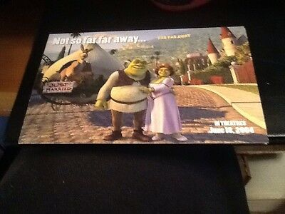 Job Lot Of 10 Shrek 2 Promotional Postcards