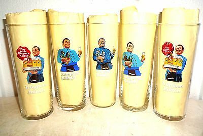 5 Kuppers Kolsch Cologne German Beer Glasses