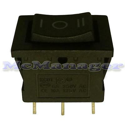 Rocker Switch 1 Circuits 6A 250V on-off-on