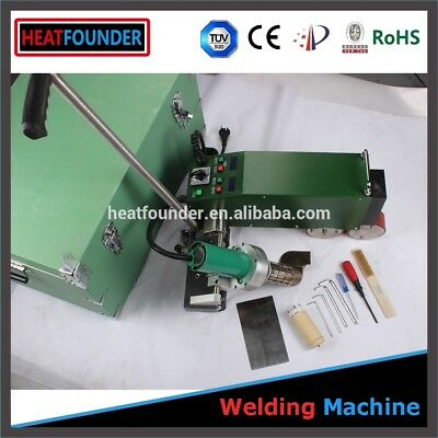 PVC TPO automatic welder for roof membrane.