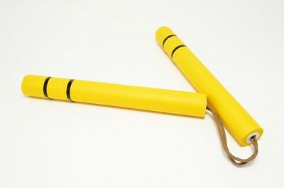Nunchaku Bruce Lee Game of Death yellow rubber