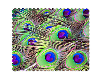 Peacock Feathers Lens Sunglasses  Eye Glasses Cleaning Cloth
