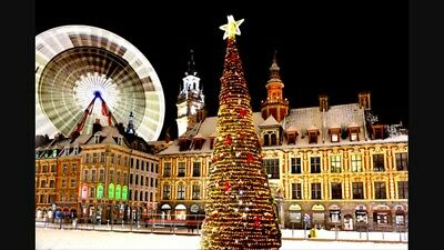 3 Night Christmas Market Break In Lille For 2 People Including Ferry