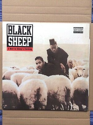 """Black Sheep A Wolf In Sheep's Clothing US Reissue 12"""" Vinyl LP"""