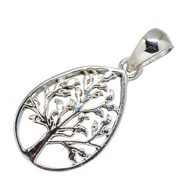 """Tree 925 Sterling Silver Pendant 1"""" Ana Co Jewelry P579127F"""