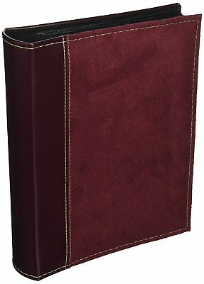 Pioneer Photo Albums 208 Pocket Sewn Faux Suede and Leatherette Cover Album for