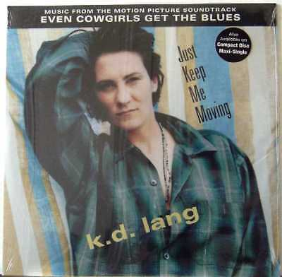 """K.D. LANG USA  6 TRACK 12"""" Single Just Keep Me Moving NEW"""