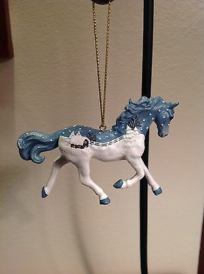 """Westland Horse Of A Different Color """"vintage Greetings"""" Christmas Ornament 3.5"""""""