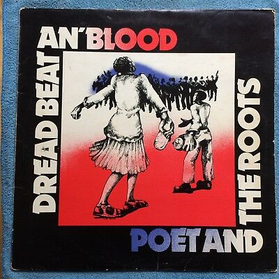 Poet And The Roots - Dread Beat An' Blood Vg/vg+ Vinyl Lp - Linton Kwesi Johnson