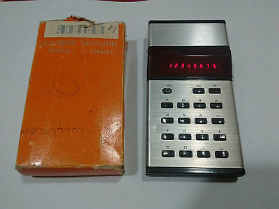 Adman L-0830T Vintage Electronic Calculator Boxed