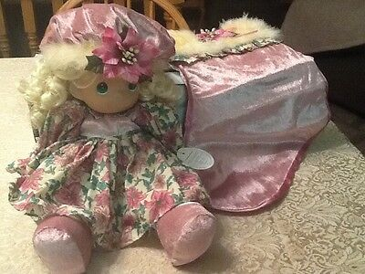 2007 Precious Moments A Christmas To Remember Stocking Doll 15th Edition