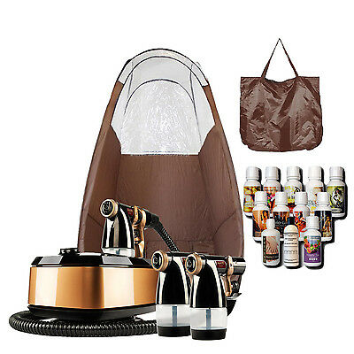Maximist Allure Xena Sunless Spraytan Kit w Brown Tent and Tampa Bay Tan Spray