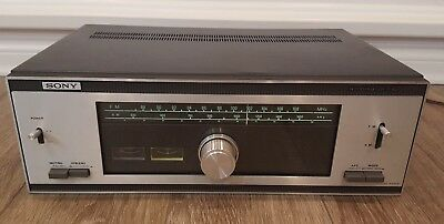 Vintage 1971 SONY FM Stereo/FM-AM Tuner ST-5100. TESTED!