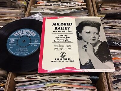Mildred Bailey And Her Allecats E.p..1957 Parlophone+Picture Cover.near Mint!