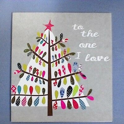 Caroline Gardner Christmas Tree card - to the one I love