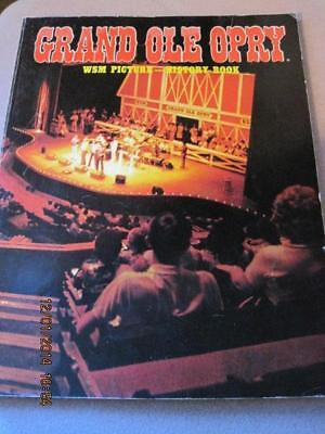 GRAND OLE OPRY WSM Picture - History Book 1984 168 Glossy Pages VG++