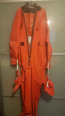 beaufort coverall passenger immersion  large diving suit ( needs repair)