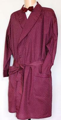 Vintage Style Cotton  Dressing Gown, Smoking Jacket Size 4Xl
