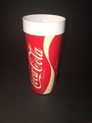 VTG INSULATED THERMO SERV COCA COLA COKE CUPS TUMBLERS Made in USA West Bend