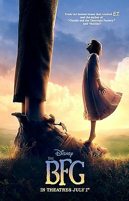 """The BFG movie poster print  - 11"""" x 17"""" inches - Roald Dahl"""