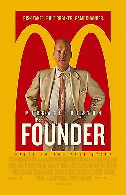 """The Founder movie poster print  - 11"""" x 17"""" inches - Michael Keaton"""
