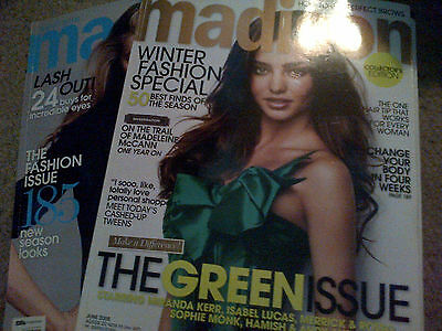 Miranda Kerr lot Madison Australia magazines clipping catalog [9 x 11.5]