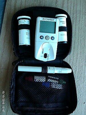 In Charge -Portable Pocket Tester - Blood Glucose And Fructosamine Moniter
