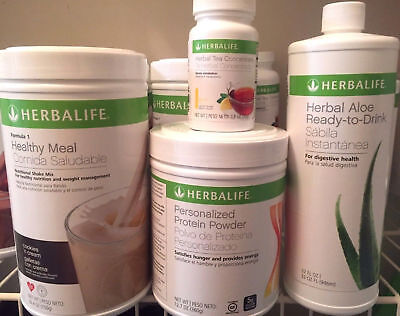 New! Herbalife Formula 1 Shake Any Flavor,protein,ready Aloe,tea, Free Shipping!