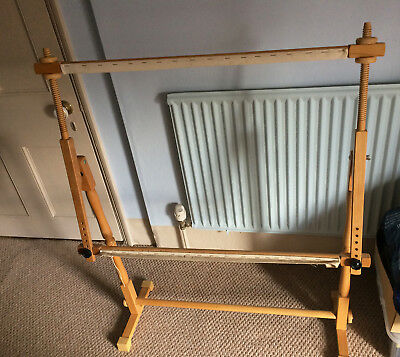 Floor Standing Tapestry And Cross Stitch Frame  - Solid Firm Frame