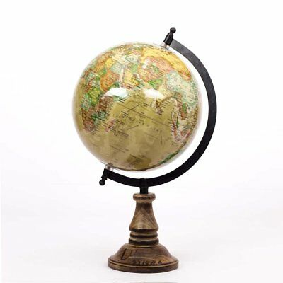 Antiq Look World Globe Educational Laminated Desk and Table Top Political World