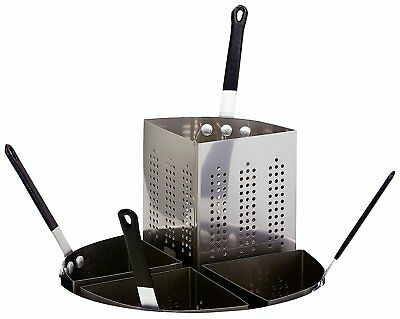 Crestware Stainless Steel Insert for 20-Quart Four Compartment Pasta Cooker
