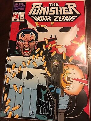 The Punisher War Zone Comic Book #1 (Mar 1992, Marvel)
